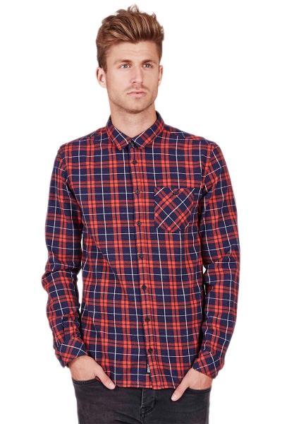 a725cbc5a92c Minimum ανδρικό καρό πουκάμισο Astoria κόκκινο - 11402144