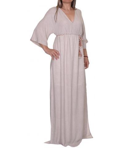 c1e4b512a43 φόρεμα γυναικα μαξι μπεζ - Totos.gr