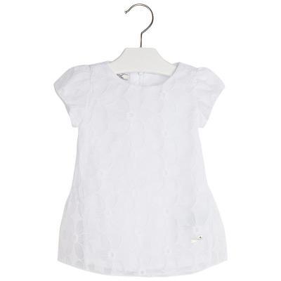 8023d860677 Φόρεμα 25-01931-061 Λευκό Mayoral