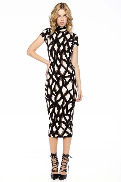 83fe8da8e6fb Φόρεμα κοντό μανίκι - 14525