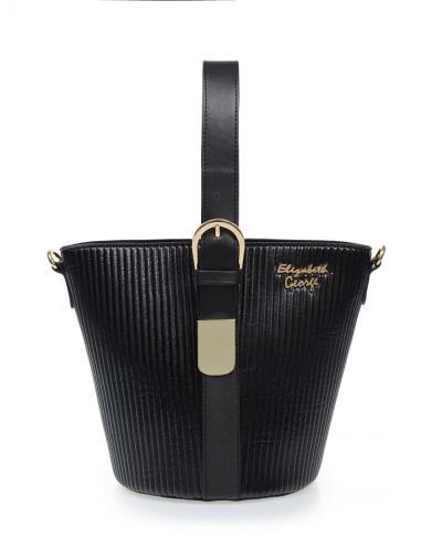 87ad693413 Τσάντα veta χειρός μαύρη (Elizabeth George