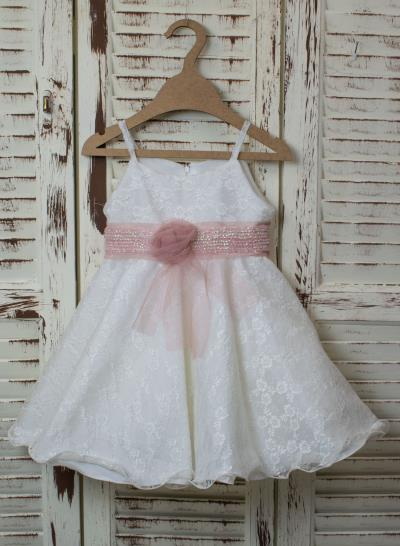 173325dd0be Φόρεμα Βάπτισης Δαντέλα Λουλούδι Κωδ:SB5440