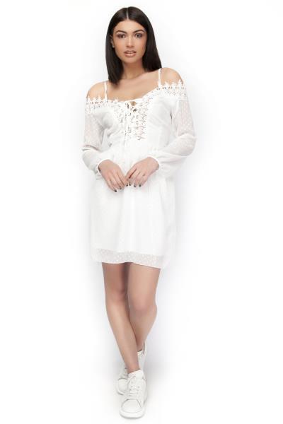 5aef27aaf542 φόρεμα mini ρουχα δαντελα - Totos.gr