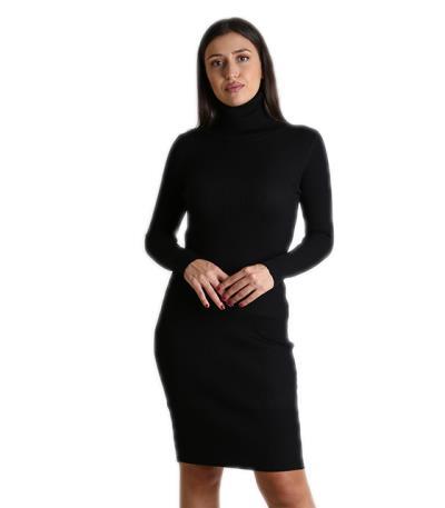 0f86c8790ad4 Ριπ φόρεμα ζιβάγκο midi (Μαύρο)