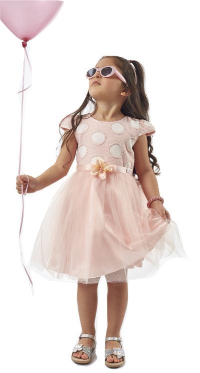 φόρεμα ροζ φουστεσ root - Totos.gr a0478c78097