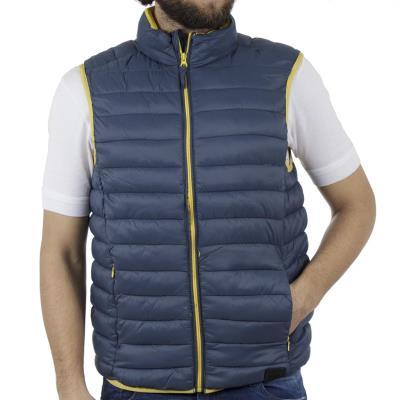 837438f47843 Ανδρικό Αμάνικο Μπουφάν-Γιλέκο Puffer Jacket BLEND 20707521 ανοιχτό Μπλε