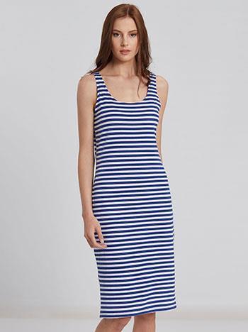 e6ffaed3596e φόρεμα midi μπλε xl - Totos.gr