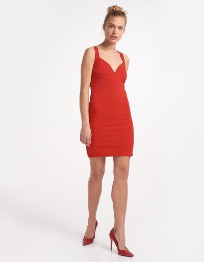 Φόρεμα με χιαστί τιράντες στην πλάτη 2381720b1cc