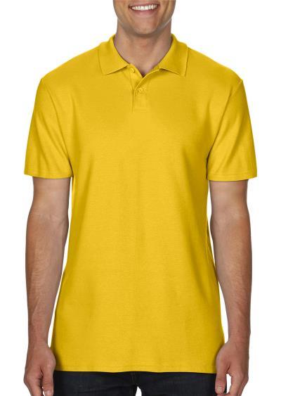 Ανδρική Μπλούζα Double Pique Polo Softstyle Gildan 64800 - Daisy 935fd282560