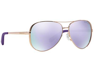 efd1be74d6 Γυαλιά ηλίου Michael Kors MK 5004 Chelsea 10034V Ροζ Χρυσό Μωβ Καθρέφτης  (10034V