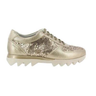 b97b90bc0c STONEFLY SPEEDY LADY 11 METAL FIZZ Γυναικείο sneaker Ανατομικό πάτημα Χρώμα  μπεζ