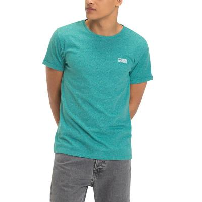 Tommy Hilfiger Jersey Men s T-Shirt DM0DM04559-422 - GREEN BLUE SLATE a4237c9eab2