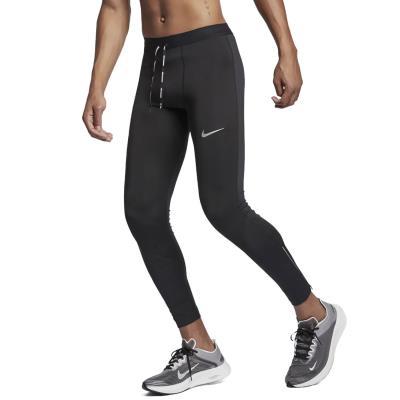 22fb3bc40850 Nike Power Tech Running- Ανδρικό Κολάν AJ8000-010 - BLACK BLACK REFLECTIVE  SILV