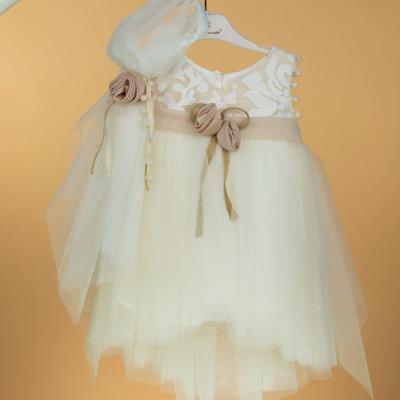 9a8a55e0eb3 Φόρεμα Βαπτιστικό 12-24 Μηνών La Christine ST16