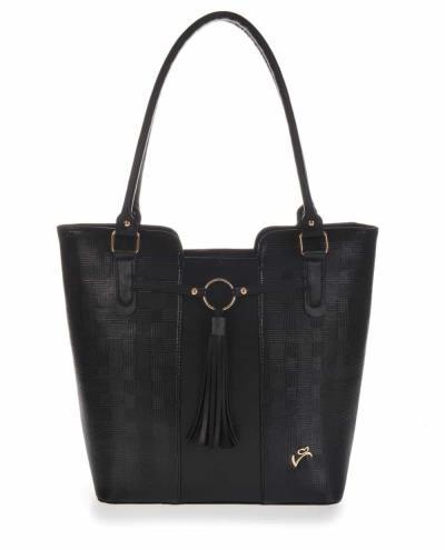 0e1035b7b8 Τσάντα ώμου veta μαύρη (699-1)