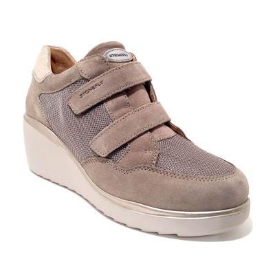 7894b74ada STONEFLY ECLIPSE 8 VEL MESH TAUPE BROWN Γυναικείο sneaker Ανατομικό πάτημα  Χρώμα
