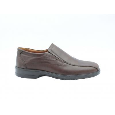 b Μοκασίνια δερμάτινα  b  ανατομικά ανδρικά παπούτσια Boxer 13754 καφέ.  13754-Κ 2b152782a41