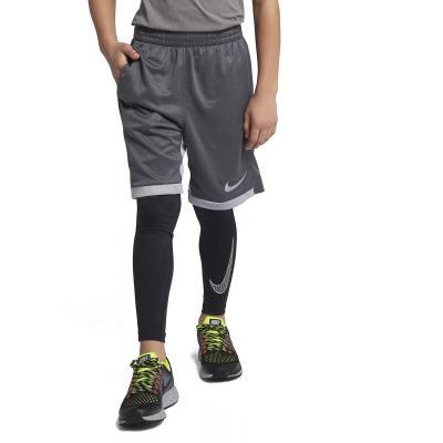8a99beb1129 Nike Pro Big Boys' Training Tights 858229-010 - BLACK/WHITE