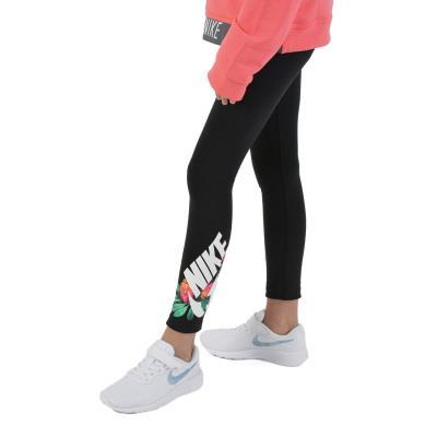 e3785622516d Nike Sportswear Kid s Tights AV9998-010 - Black