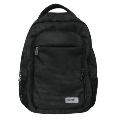 7aa41c1bda6 Τσάντα σχολική πλάτης μαύρη elegance MUST 0579172 ΔΙΑΚΑΚΗΣ ΕΙΣΑΓΩΓΙΚΗ ΑΕ  (057917