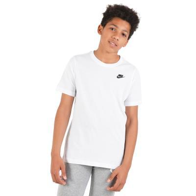 37b6dd104e Nike Boys Streetwear EMB Futura T-shirt - Παιδικό Μπλουζάκι AR5254-100 -  white b