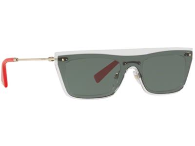 65f0d75132 Γυαλιά ηλίου Valentino VA 4016 502471 Διάφανο Γκρι Πράσινο (502471) PC  Lenses 10