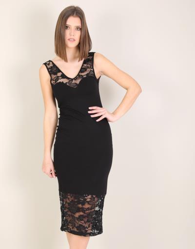 c4788a991a41 φόρεμα midi xl δαντελα - Totos.gr