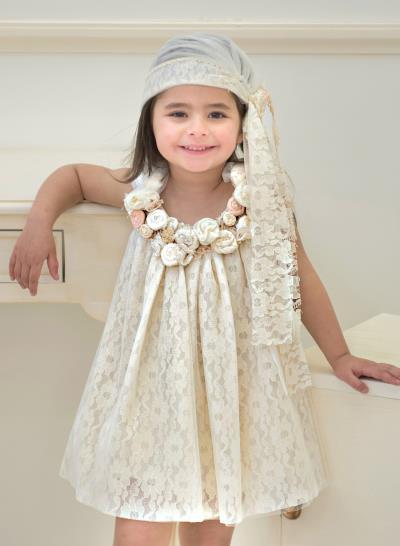 5f6ad4704b1 Φόρεμα Βάπτισης Από Ιβουάρ Δαντέλα Κωδ:11988
