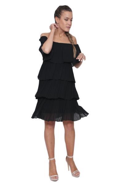 cd45f38221b8 φόρεμα μαυρο πλισε - Totos.gr