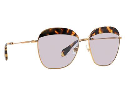 Γυαλιά ηλίου Miu Miu Noir SMU 53Q 7S0 3F2 Καφέ Ταρταρούγα Χρυσό Γκρι Λιλά  (7S0 3 72584c8efb1