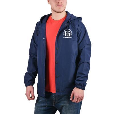 Emerson Men s jacket with hood 181.EM10.04-016 - PL NAVY 7c3c1a53cdf