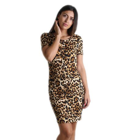 φόρεμα μινι ρουχα λεοπαρ - Totos.gr 7f7b7b2ae41