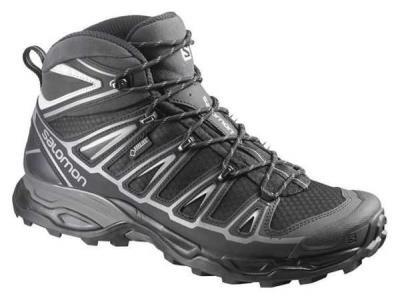 88578968225 Αδιάβροχα ορειβατικά μποτάκια ανδρικά Salomon X Ultra Mid 2 GTX Gore-Tex  Black 3