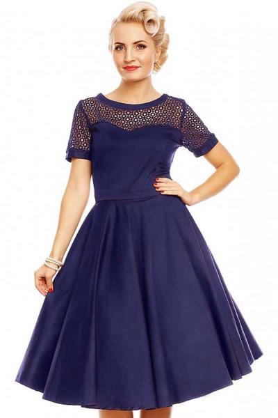 7ef6da289b5 vintage formal 50s φόρεμα cotton lace Tessa