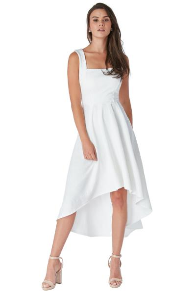 2c30080d39b0 feminine bridal jersey φόρεμα high low