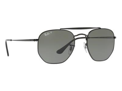 Γυαλιά ηλίου Ray-Ban Marshal RB 3648 002 58 Polarized Μαύρο Πράσινος  (002-58) Κρ 85317644c79