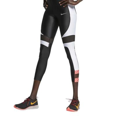 7d436a844d80 Nike Distort Speed Women s Tights AJ8813-010 - BLACK WHITE EMBER  GLOW REFLECTIVE