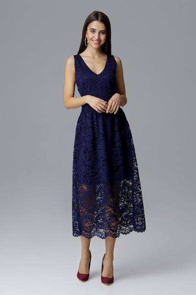 e0f260791684 φόρεμα midi μιντι μπλε - Totos.gr
