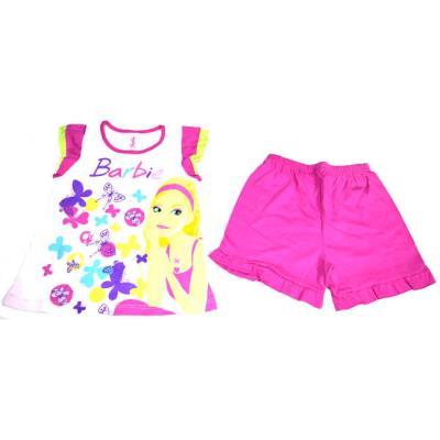 47d8fc4f42e Πυτζάμα παιδική κορίτσι με την Barbie Μινέρβα βαμβακερή κορίτσι