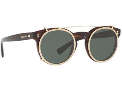 a7547c02e8 Γυαλιά ηλίου Valentino VA 4009CB 500271 Καφέ Ταρταρούγα Γκρι Πράσινο  (500271) PC