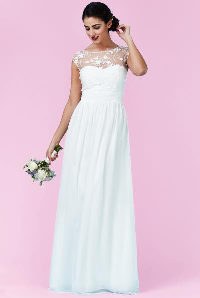 αέρινο bridal empire φόρεμα top δαντέλα 3d floral e9a4feed60d