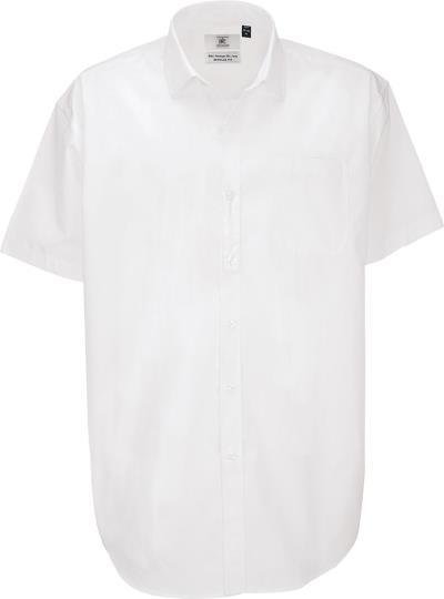 72737da4f1bd Κοντομάνικο πουκάμισο B   C Heritage SSL Men - White